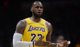 Basket, pre-season Nba: Lakers ko, Denver rovina il debutto di LeBron James