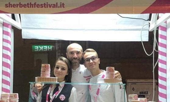 Grappa, ricotta di bufala e prugne: Flavio Solighetto trionfa al campionato mondiale del gelato