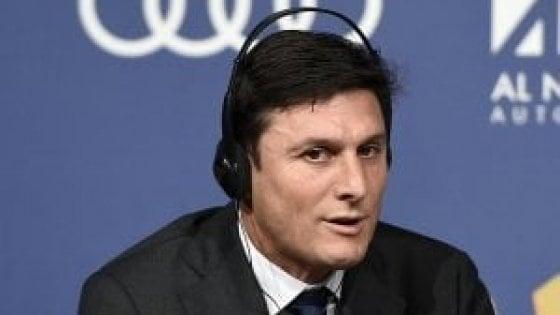 """L'Inter verso il Psv, Zanetti: """"Non sarà facile, ma noi siamo un top club"""""""