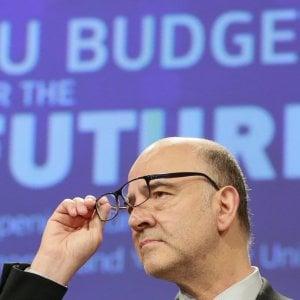 Il commissario agli Affari economici, Pierre Moscovici