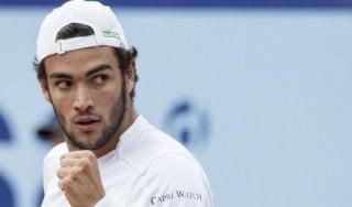 Tennis: Berrettini e Cecchinato avanzano a Pechino. Ok anche Fognini