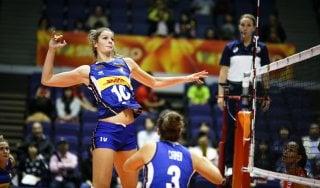 Volley, mondiali donne: Italia-Cuba 3-0. Terza vittoria consecutiva per le azzurre