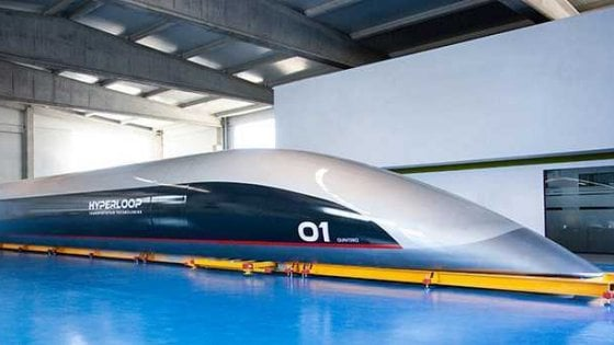 Hyperloop: ecco la prima capsula del supertreno