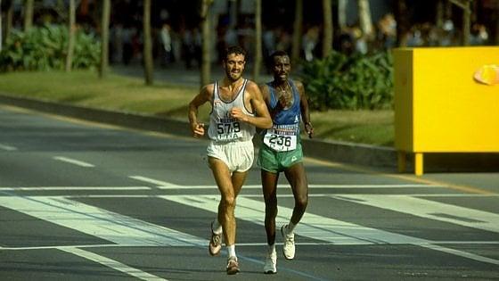 """Trent'anni fa la maratona d'oro di Bordin: """"La sera in discoteca, poi ho corso come un contadino"""""""