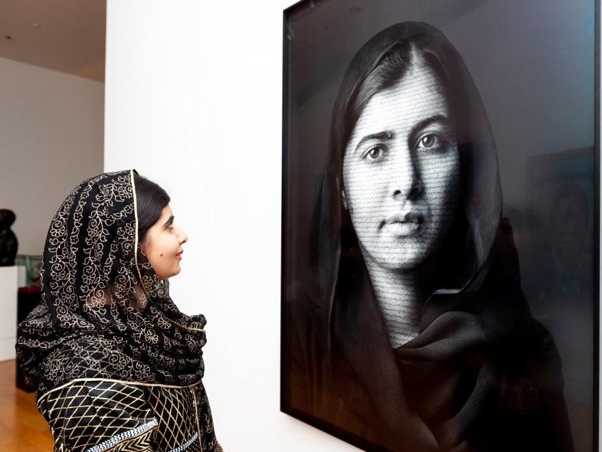 """Malala: """"il mio ritratto in un grande museo di Londra per ricordare a tutti le ragazze che lottano nel mondo"""""""