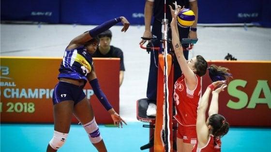 Volley, mondiali femminili: favolosa Italia batte la Turchia 3-0