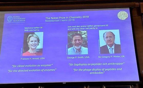 Chimica, il Nobel ambientalista ad Arnold, Smith e Winter