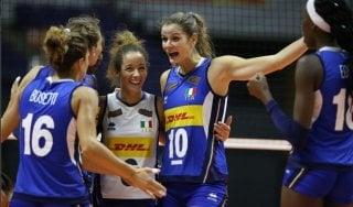 Mondiali volley, Italia-Cina 3-1. Le azzurre chiudono al primo posto il girone