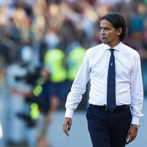 """Lazio, Inzaghi: """"Derby alle spalle, con l'Eintracht è ora di rialzarsi"""""""