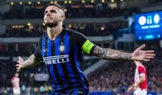 Psv-Inter 1-2: decide Icardi, nerazzurri a punteggio pieno