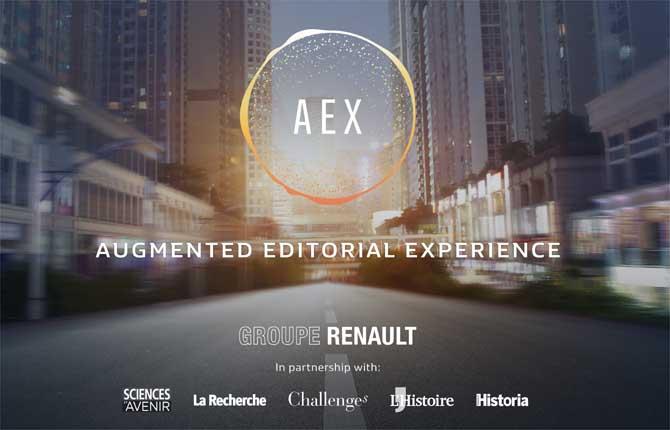 Renault Aex, un passo oltre la guida autonoma