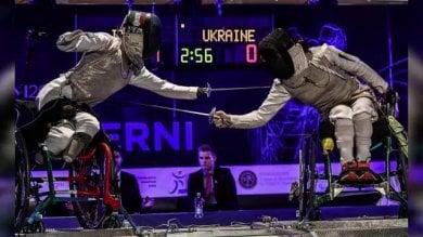 Scherma paralimpica, orgoglio azzurro l'Italia trionfa agli Europei di Terni