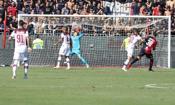 Cagliari-Bologna 2-0, Joao Pedro e Pavoletti stendono Inzaghi