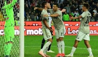 Udinese-Juventus 0-2: Bentancur e Ronaldo, la capolista sa solo vincere