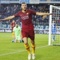 Empoli-Roma 0-2: Nzonzi-Dzeko, i giallorossi continuano la risalita