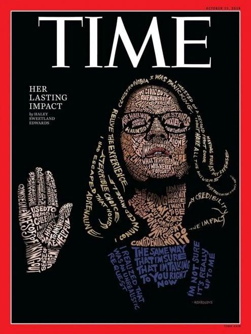 """L'accusatrice di Kavanaugh sulla copertina di Time: """"Ecco le parole di Christine Ford"""""""