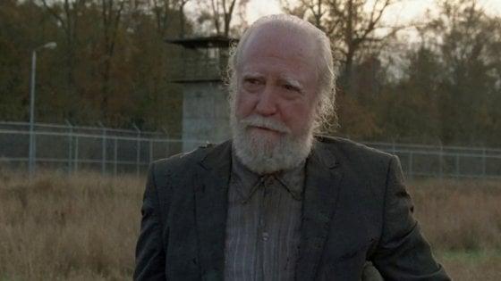 Addio a Scott Wilson, il grande 'vecchio' di 'The Walking Dead', recitò anche per Pollack e Miller