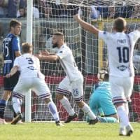 Atalanta-Sampdoria 0-1: Tonelli certifica la crisi nerazzurra