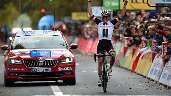 Ciclismo, Parigi-Tours: colpo solitario di Andersen