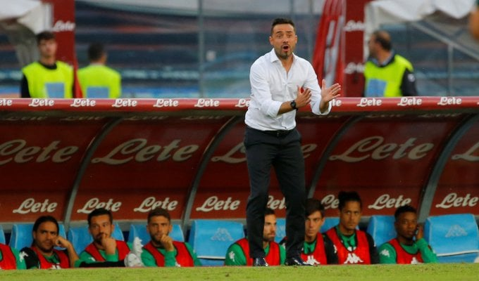 "Sassuolo, De Zerbi: ""Berardi non era al top. Manca un rosso a Diawara"""