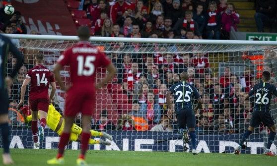 Premier: Liverpool-City finisce senza gol. Sarri, tris e primo posto
