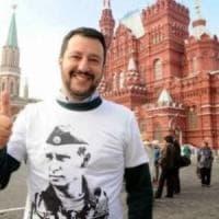Salvini torna a Mosca per protestare contro le sanzioni europee