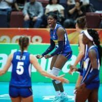 Mondiali volley femminili, Italia batte Thailandia 3-0