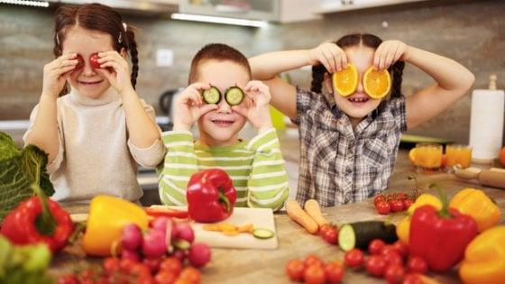 Un concorso di ricette, così i bambini imparano a mangiare la verdura