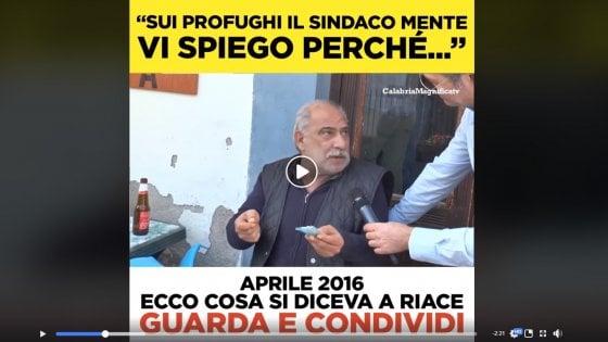 Riace, scivolone di Salvini: un prestanome della 'ndrangheta per contestare il sindaco Lucano