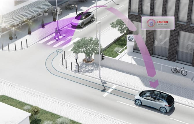Volkswagen e Siemens, incroci più sicuri