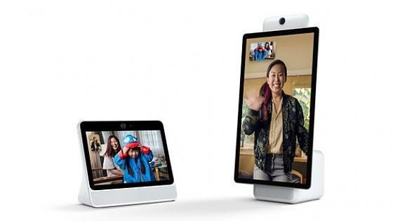 Facebook lancia il suo primo dispositivo smart. Ecco Portal