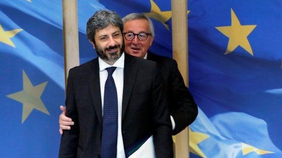 """Europee, Fico: """"Il M5s non siederà mai con Le Pen. La strada di Salvini non è la mia"""""""
