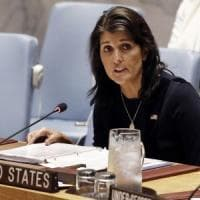 Si dimette Nikki Haley, ambasciatrice Usa all'Onu: