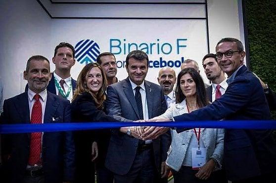 Binario F. Nel cuore di Roma lo spazio per la formazione di Facebook