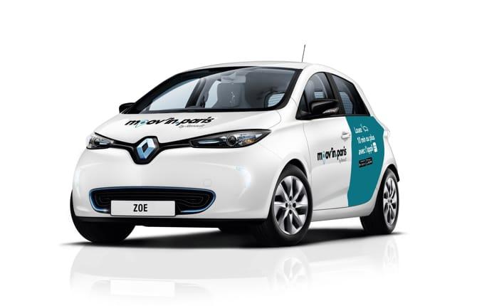 Renault, al via la nuova app Moov'in.Paris
