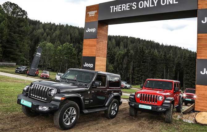 """Jeep in pole al """"4x4 Fest"""" di Carrara"""