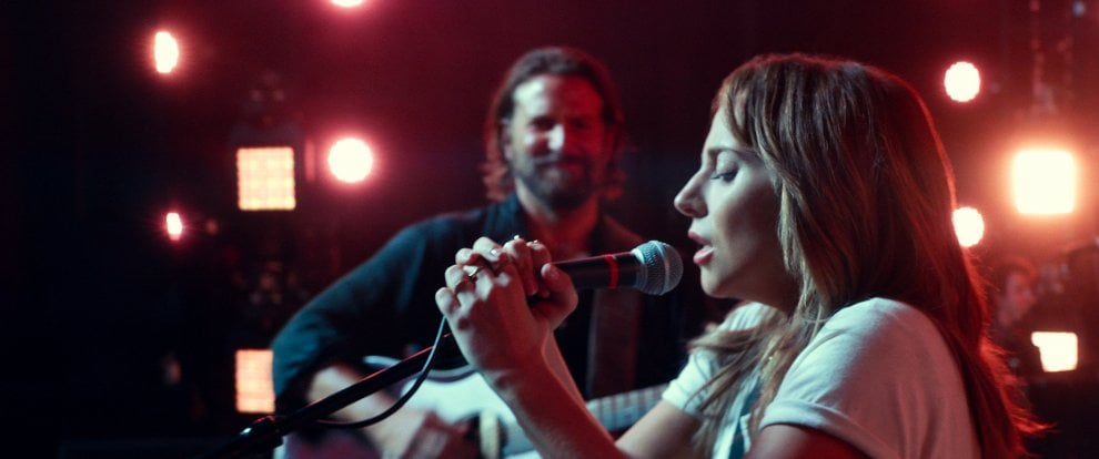 La stella Lady Gaga adesso brilla al cinema, 'A star is born'