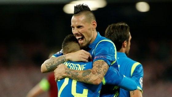 Napoli, Hamsik non molla: ''La Juve non è invincibile''