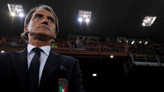 """Nazionale, Mancini: """"C'è rammarico, non ci dice neanche bene"""""""