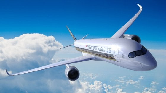 Singapore-New York non stop: debutta il volo commerciale più lungo