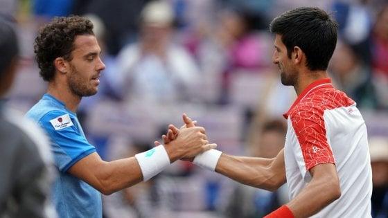 Tennis, Masters Shanghai: rivincita Djokovic, Cecchinato ko agli ottavi