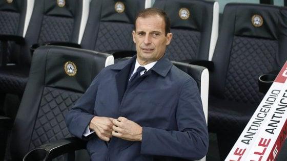 Juventus, Allegri: ''Voglio la Champions, speriamo sia la volta buona''