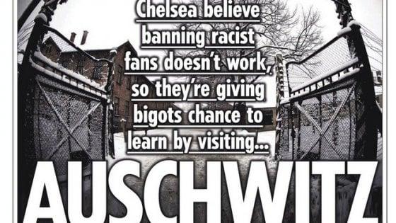 Il Chelsea contro i tifosi razzisti: corsi di recupero e visite ad Auschwitz