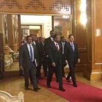 """Migranti, Conte: """"Unione Africana strategica per flussi e rimpatri. Italia cruciale per..."""