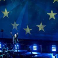 U2 a Milano, rock in nome dell'Europa unita