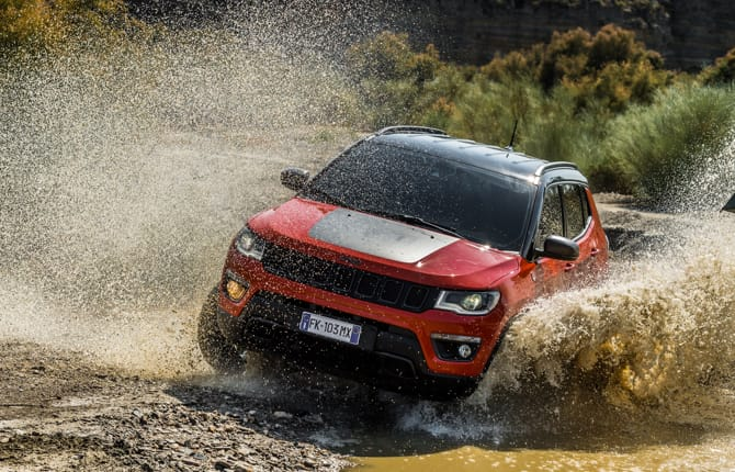 Nuova Compass Trailhawk, arriva la super Jeep