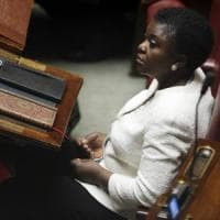 "Solidarietà Ue per Cécile Kyenge. Paragonata più volte a ""un orango"", definì la Lega..."