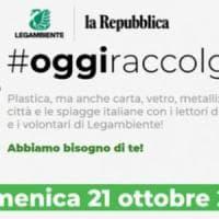 Repubblica e Legambiente: tutti in strada, puliamo noi
