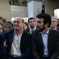 """Piazza Grande,  Zingaretti: """"Ricostruiamo il Pd, lasciamo la strada che ci ha portato alla..."""