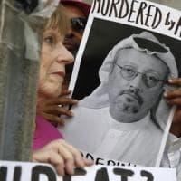 """Giornalista saudita scomparso, la fidanzata Cengiz: """"Khashoggi non è morto, migliaia ne..."""